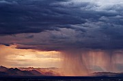 Indian Wells Valley Thunderstorm - Coso Mountains