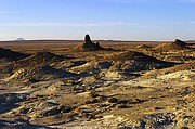 Lone Tufa - Trona Pinnacles