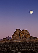 Full Moon Over Robber's Roost - Eastern Sierra Foothills