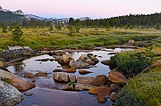 Tuolumne Meadows Dawn - Yosemite