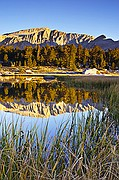 Mount Langley Reflection - Cottonwood Lakes - Sierras