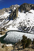 Heart Lake Spring Thaw - Kearsarge Pass - Onion Valley