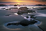 Seal Rock Sunset - Seal Rock - Oregon Coast